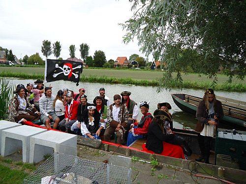 Piraten speurtocht kermis 2013